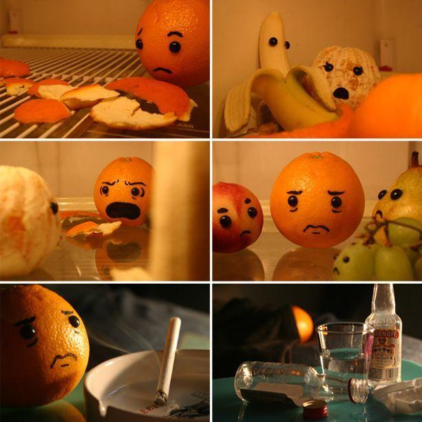Cheating Orange
